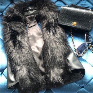 Faux Fur Vest from Akira